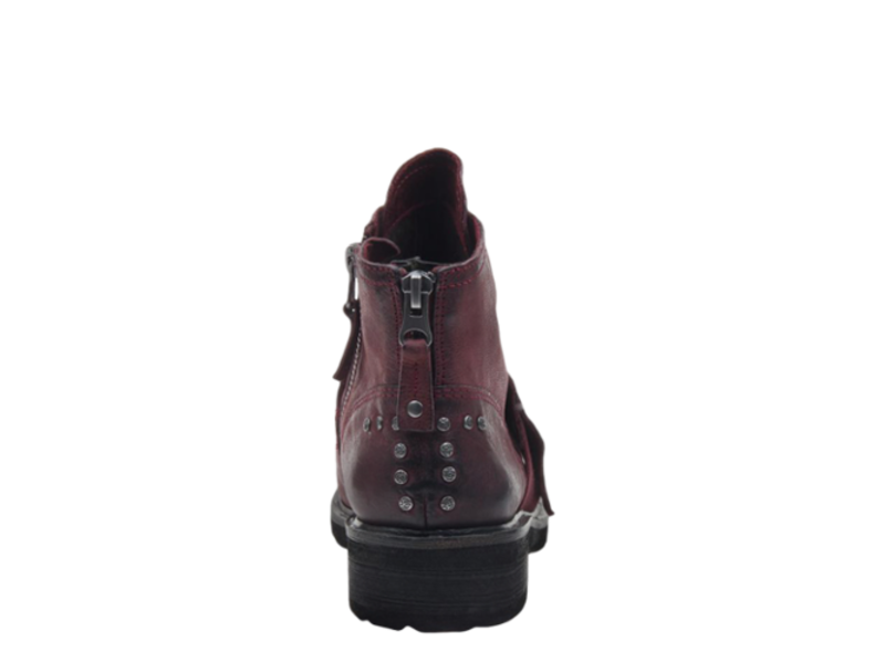 OTBT Frontage in eggplant mid shaft boot
