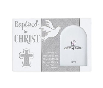 faithworks Photo Frame -Baptized in Christ