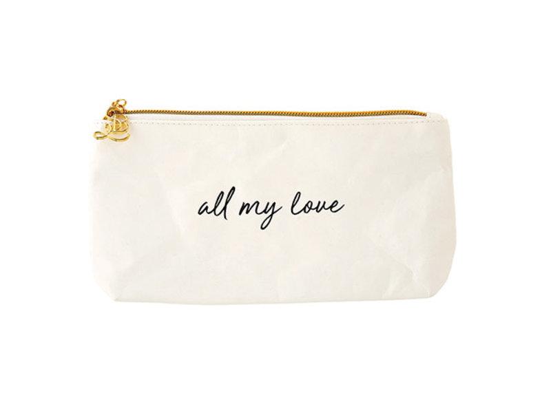 faithworks Love -stadium insert or makeup bag