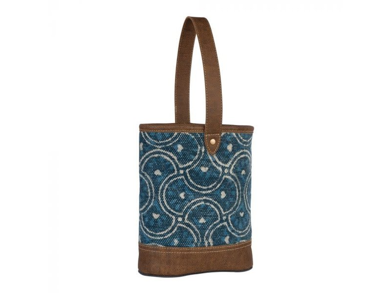 Myra Bags COOL BLUE WINE BAG