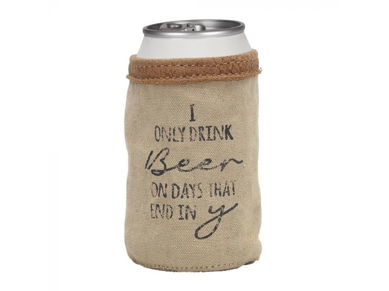 Myra Bags I ONLY DRINK BEER CAN HOLDER