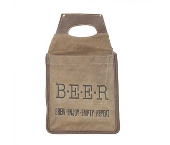 "Myra Bags ""BREW"" BEER CADDY"