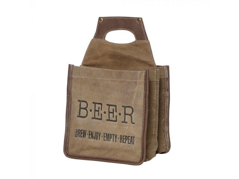 "Myra Bags ""BREW"" BEER CADDY"