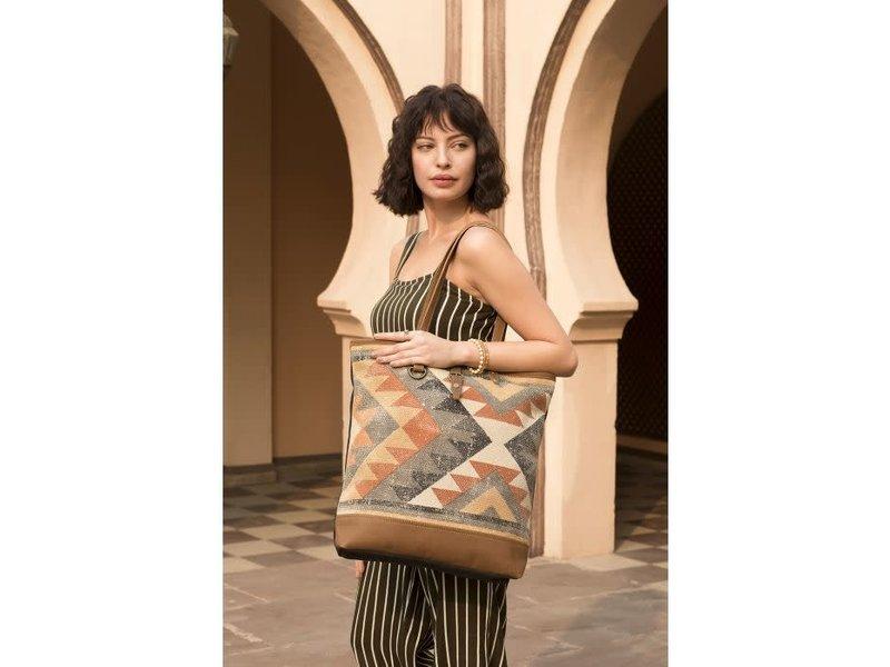 Myra Bags JAGGY TOTE BAG