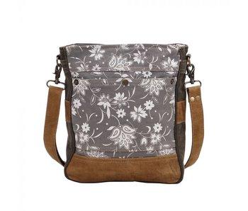 Myra Bags BLOSSOM PRINT SHOULDER BAG