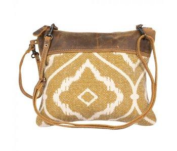 Myra Bags CHOCOLATE CARAMEL SMALL & CROSSBODY BAG