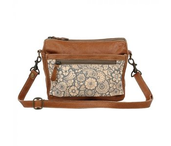 Myra Bags PEACH N BLEACH SMALL & CROSSBODY BAG