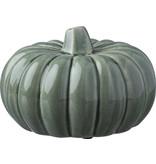 Primitives by Kathy Ceramic Pumpkin Medium -Green