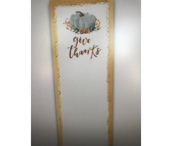 Primitives by Kathy Magnetic List Notepad -Give Thanks