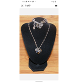 Genuine Brighton Karma Bracelet & Necklace Combo Set