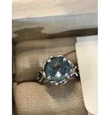 Brighton Blue Topaz 925 Sterling Silver Ring -Size 6