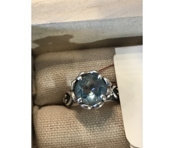 Brighton Blue Topaz 925 Sterling Silver Ring -Size 6