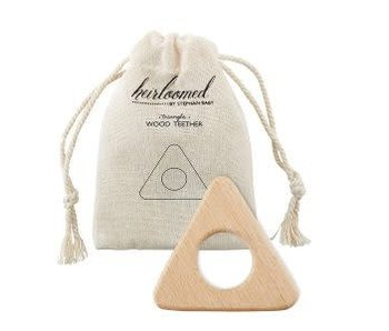 Santa Barbara Heirloomed wood teethers