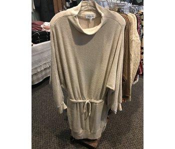 Gilli Long Sleeve Cowl Neck Knit Dress