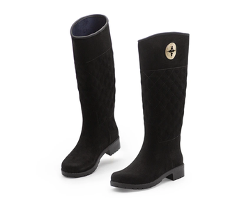 Charleston Shoe Co. Wentworth Black Rain Boot