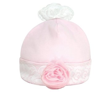 Santa Barbara Cap & Socks Set - Shabby Rose, 0-3 months