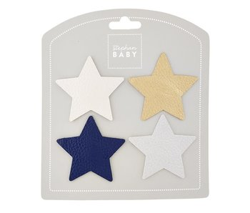 Santa Barbara Star barrette set