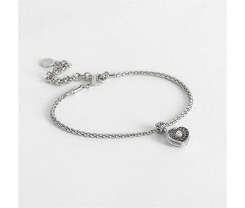Coco & Carmen Totally Charmed Anklet Bracelet -Heart