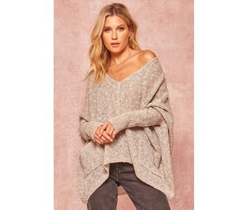 Promesa USA Two Tone Knit Sweater