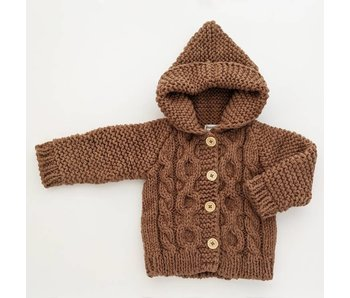 Huggalugs Hooded Sweater Coat -size 2-3T