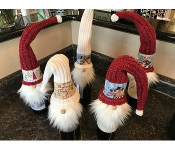 BC Creations Christmas Wine Bottle Gnomes