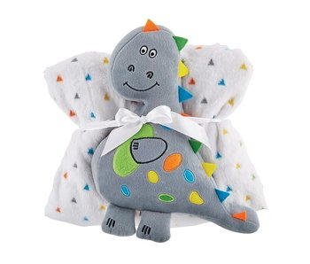 faithworks Blanket/Toy Set -Dinosaur