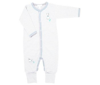 Magnolia Baby Best Buddy Embroidered playsuit -size NB