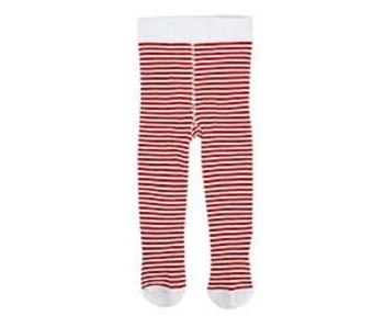 Stephan Baby Holiday tights red stripe 6-12 months