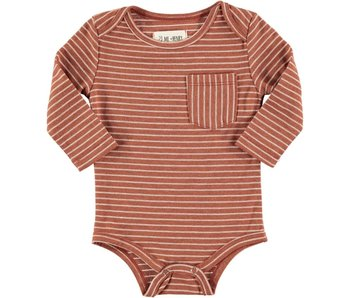 Me & Henry Striped bodysuit