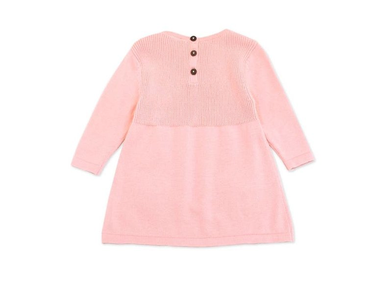 Viverano Organics A-Line Long Sleeve Baby Dress Sweater Knit