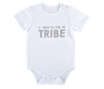 Stephan Baby New to the Tribe snap shirt size 0-3 months