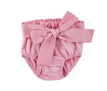 Stephan Baby Pink tie bloomers size 6-12 months
