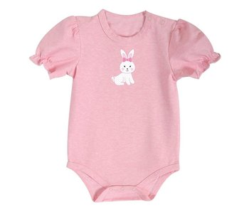 Stephan Baby Pink Bunny Snap shirt size 6-12 Months