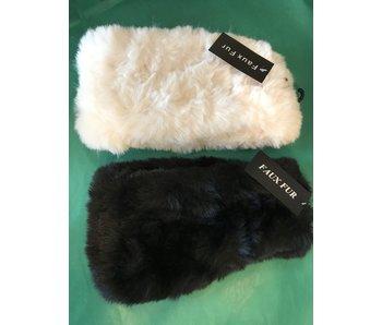 Mademoiselle Faux Fur Headband/Neckwarmer