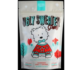 Einstein Pets Ugly Sweater Party all natural dog treats