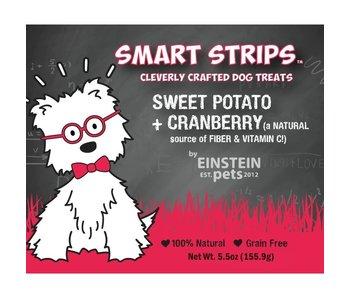 Einstein Pets 5.5 oz Bags Sweet Potato + Cranberry Chew Treats