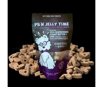 Einstein Pets 2 oz Bags PB'N Jelly Time cleverly crafted dog treats