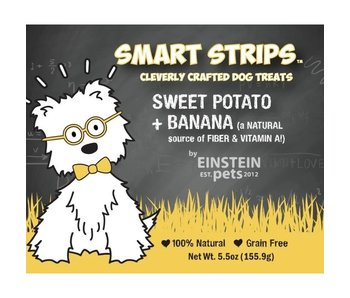 Einstein Pets 5.5 oz Bags Sweet Potato + Banana Chew Treats