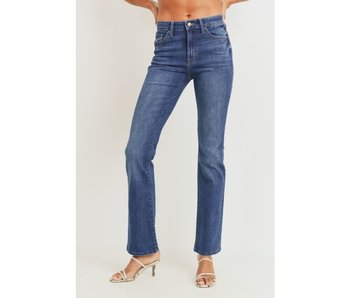 Just USA High Rise Bootcut Mom Jeans