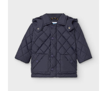 Mayoral Navy Blue Padded coat baby boy -size 6M
