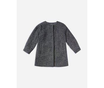 Rylee & Cru Winnie Coat -washed indigo -size 4-5Y