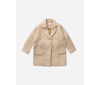 Rylee & Cru Rylee & Cru longline coat -size 4-5Y