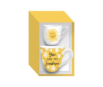 Evergreen Enterprises Mommy & Me Ceramic cup gift set -You are my sunshine