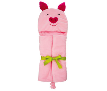 Evergreen Enterprises Penny the Pig Hooded Towel