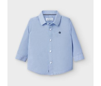 Mayoral Mayoral Oxford shirt baby boy -size 6M