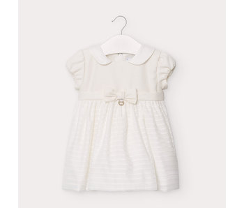 Mayoral Mayoral bow dress  -size 6M
