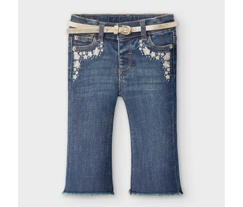Mayoral Mayoral Denim jeans baby girl -size 6M