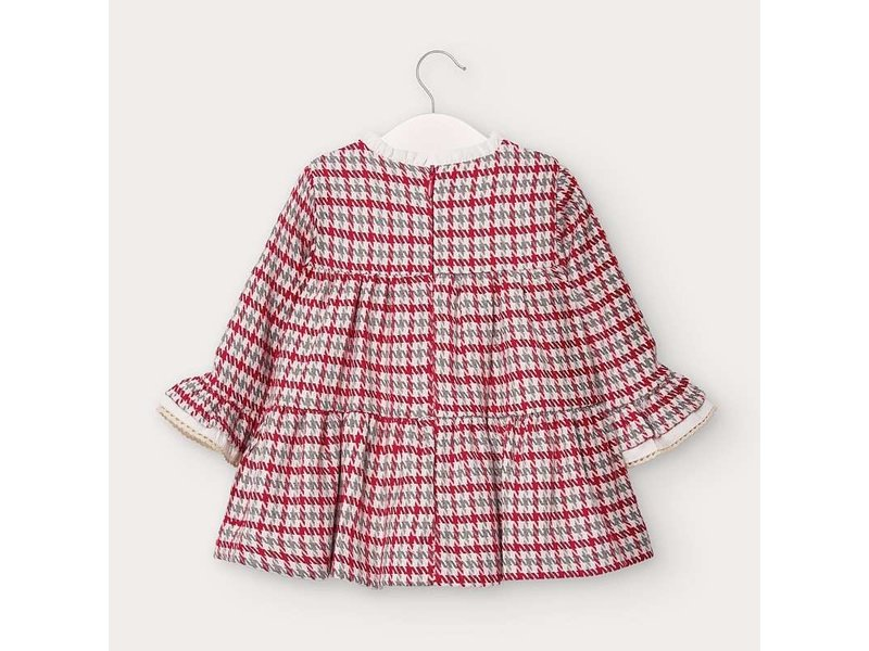 Mayoral Mayoral Hounds tooth dress baby girl -size 6M