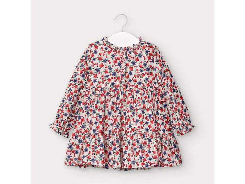 Mayoral Mayoral Viella print dress baby girl -size 6M