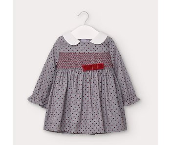 Mayoral Mayoral Polka-dot dress baby girl -size 6M